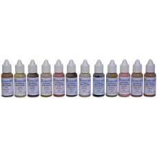 P499 Cosmesil Cilt Tonları Renk Seti, 12x10g